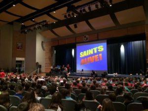 Saints ALIVE! | Oct. 20, 2018 @ Pope John Paul II High School | Royersford | Pennsylvania | United States